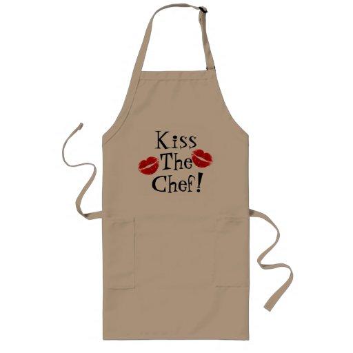 Küssen Sie die Kochs-Schürze
