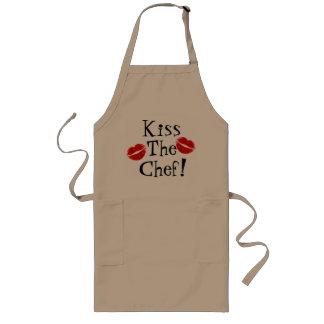 Küssen Sie die Kochs-Schürze Lange Schürze