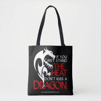 Küssen Sie eine Drache-Tasche Tasche