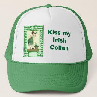 Küssen Sie mein irisches Collen Truckerkappe