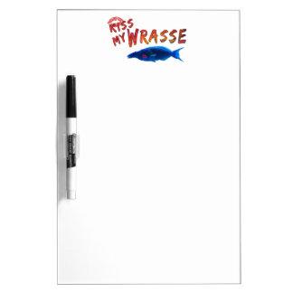 Küssen Sie meine Wrasse-Fische #2 Memoboard