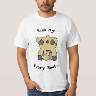 Küssen Sie meinen PelzHintern-T - Shirt