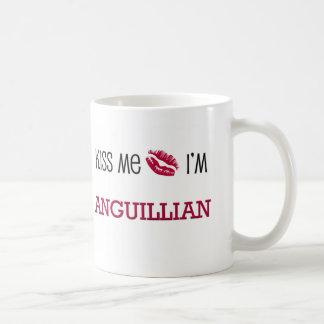 Küssen Sie mich, den ich ANGUILLIAN bin Kaffeetasse
