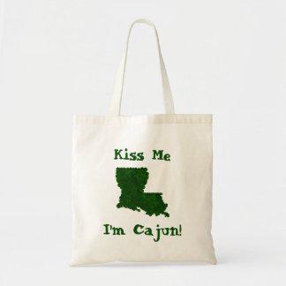 Küssen Sie mich, den ich Cajun St Patrick Tragetasche