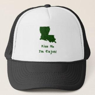 Küssen Sie mich, den ich Cajun St Patrick Truckerkappe