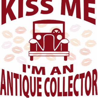 Küssen Sie mich, den ich ein antiker Sammler bin Photoausschnitte