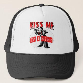 Küssen Sie mich, den ich ein Pantomime bin Truckerkappe