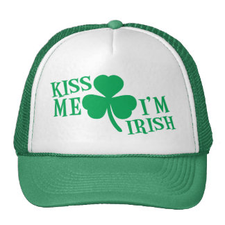 KÜSSEN Sie mich den ich irisch bin Truckermützen