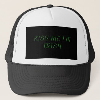 KÜSSEN Sie MICH, den ich IRISCH bin Truckerkappe