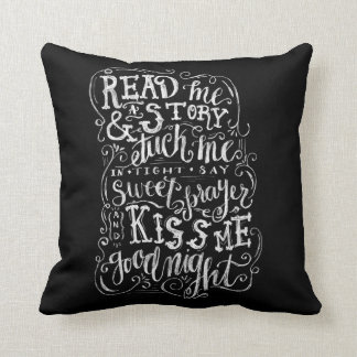 Küssen Sie mich gute Nacht Kissen
