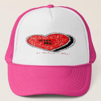 Küssen Sie mich Herz Truckerkappe