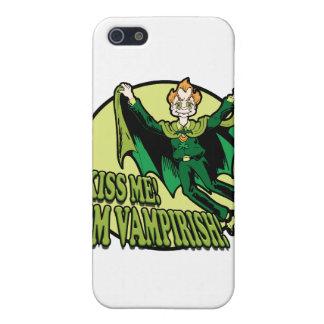 Küssen Sie mich! Ich bin Vampirish! iPhone 5 Etui