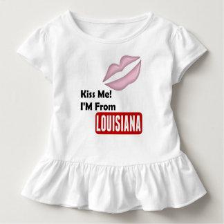 Küssen Sie mich, ich kommen aus Louisiana Kleinkind T-shirt