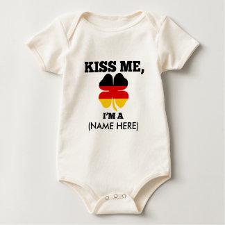 Küssen Sie mich, ich sind DEUTSCH Baby Strampler