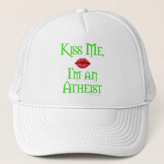 Küssen Sie mich, ich sind ein Atheist Truckerkappe