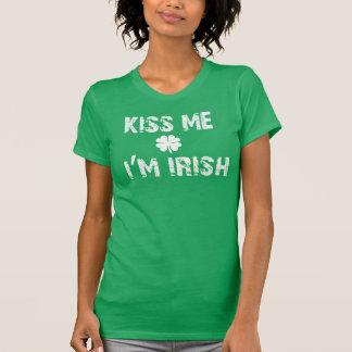 Küssen Sie mich, ich sind Iren-St- PatricktagesT - T-Shirt
