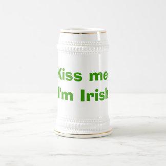 Küssen Sie mich, ich sind irisch Bierglas