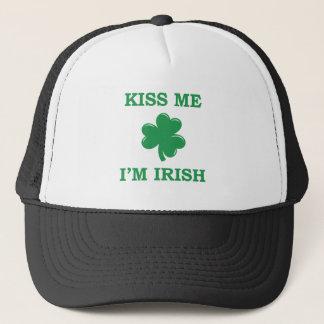 Küssen Sie mich, ich sind irische Baseballmütze Truckerkappe
