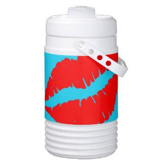 Küssen Sie mich Igloo Getränke Kühlhalter