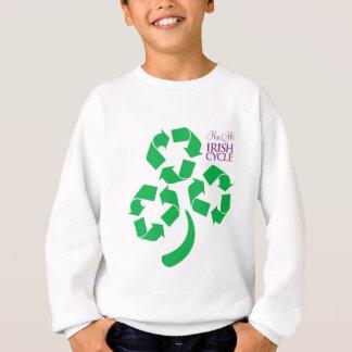 Küssen Sie mich irischer Zyklus Sweatshirt