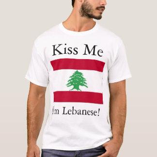 Küssen Sie mich - Libanese T-Shirt