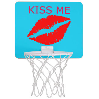 Küssen Sie mich Mini Basketball Netz