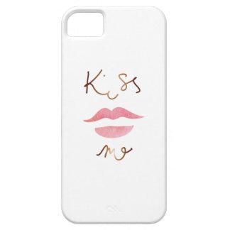 Küssen Sie mich Telefonabdeckung iPhone 5 Etuis