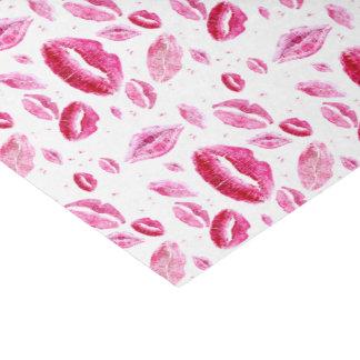 Küsst alle über (Weiß) Seidenpapier