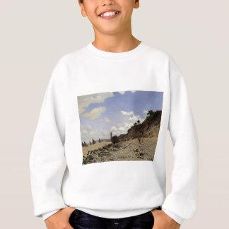 Küste bei Honfleur (1864) Sweatshirt