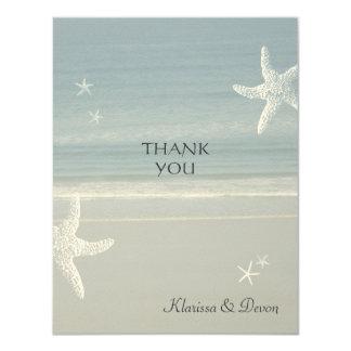 Küste danken Ihnen zu kardieren 10,8 X 14 Cm Einladungskarte