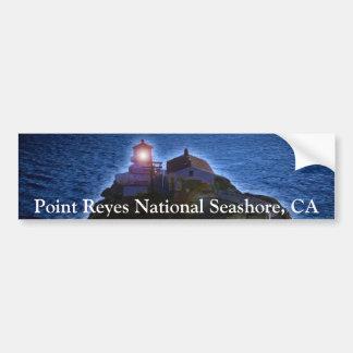 Küste-Leuchtturm CA-Stoßdämpfer Punkt-Reyes Autoaufkleber