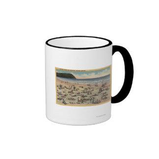 Küste, Oregon - badend in Suft und Sonnenschein Kaffeetasse
