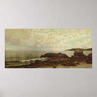 Küste vor großartigem Manan Poster