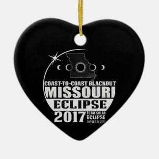 Küste, zum von Missouri-Eklipse 2017 die Küste Keramik Ornament
