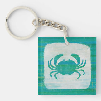 Küsten| Aqua-Krabbe Schlüsselanhänger