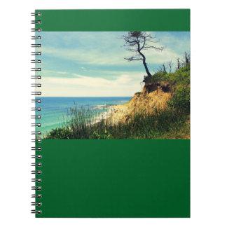 Küsten-Baum-kundengerechtes Notizbuch