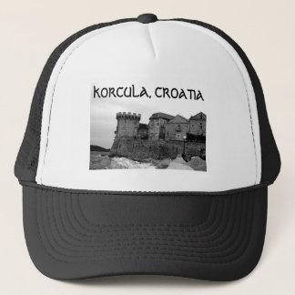 Küsten-Festung in Korcula Truckerkappe