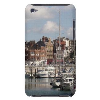 Küsten-Hafen und Segelboote Barely There iPod Etuis
