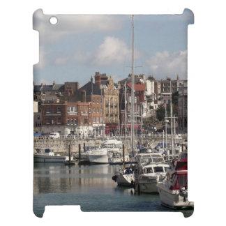 Küsten-Hafen und Segelboote iPad Hüllen