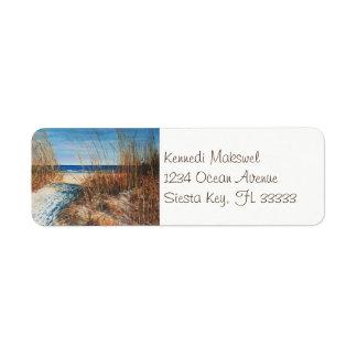 KüstenAdressen-Etiketten der