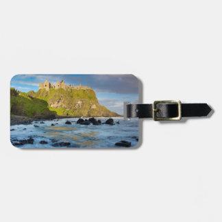 KüstenDunluce Schloss, Irland Kofferanhänger