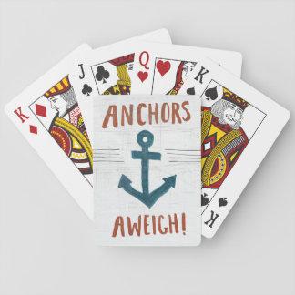 Küstenkunst | verankert weg spielkarten