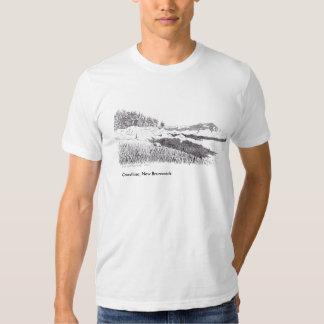 Küstenlinie, New-Brunswick T-Shirt