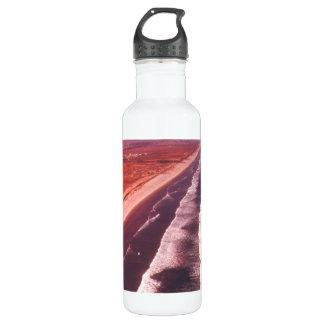 Küstenlinie südlich Los Angeless Trinkflasche
