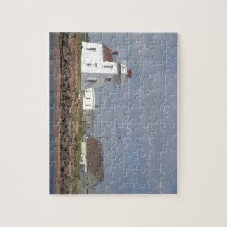 Küstenseeleuchtturm-Puzzlespiel Puzzle