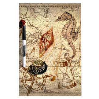 Küstenstrand Starfish Seashell Seekarte Memoboard
