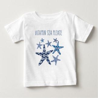 Küstenvitamin-Meer der kunst-| bitte Baby T-shirt