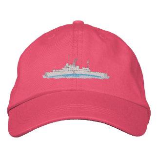 Küstenwache-Boot Bestickte Baseballkappe