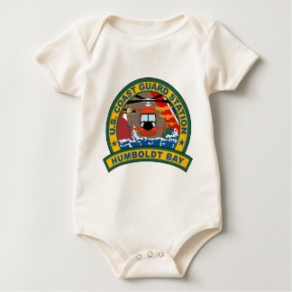 Küstenwache-Flughafen - Humboldt-Bucht Baby Strampler