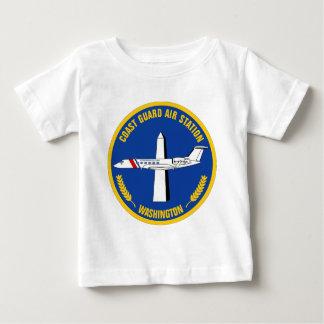 Küstenwache-Flughafen - Washington Baby T-shirt